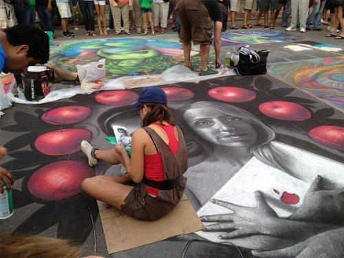 Фестиваль мела в Сарасоте