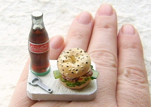 Миниатюрные игрушечные наборы вкусностей