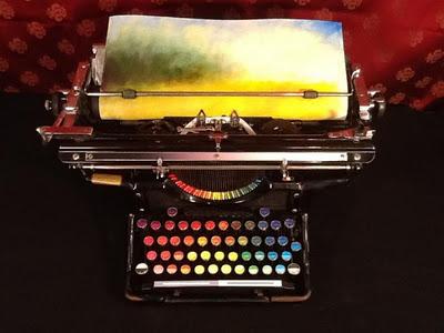 Хроматическая печатная машинка