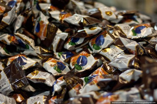 Производство шоколадных конфет