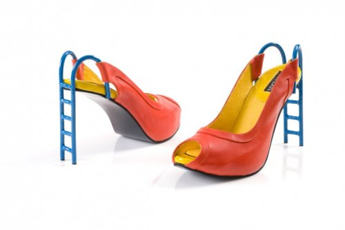 Безумные обувные модели от дизайнера Kobi Levi