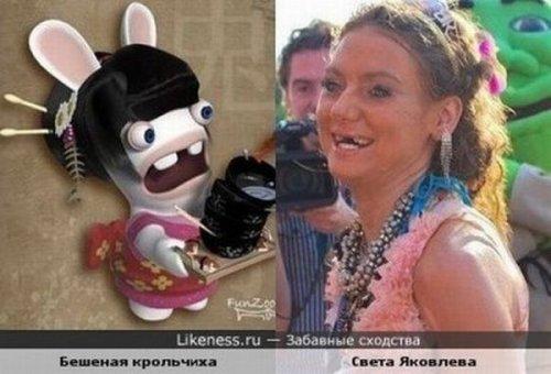 Смешные сходства знаменитостей и не только