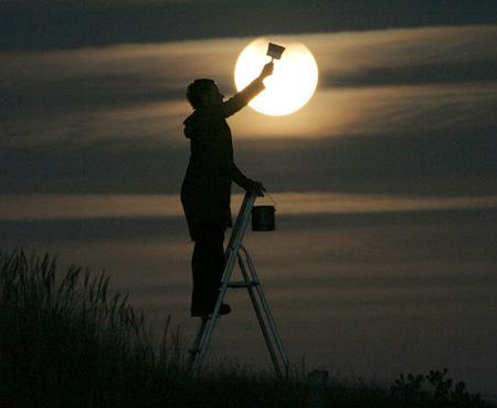 Лунный фотосет