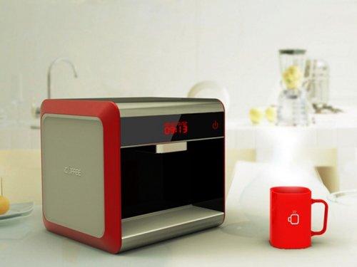 Креативная кофеварка-принтер iFancy