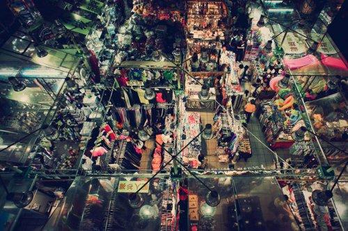 Гонконг в инфракрасном диапазоне