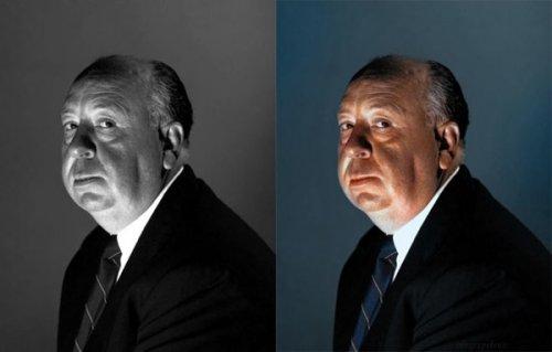 Серия цветных портретов знаменитостей от Саны Даллауей