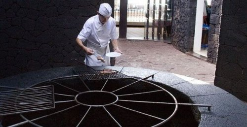 Ресторан на вулкане