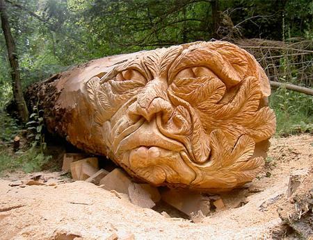 Удивительные скульптуры деревьев
