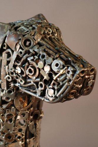 Скульптуры из выброшенных гаек
