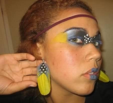 Кошмарный макияж
