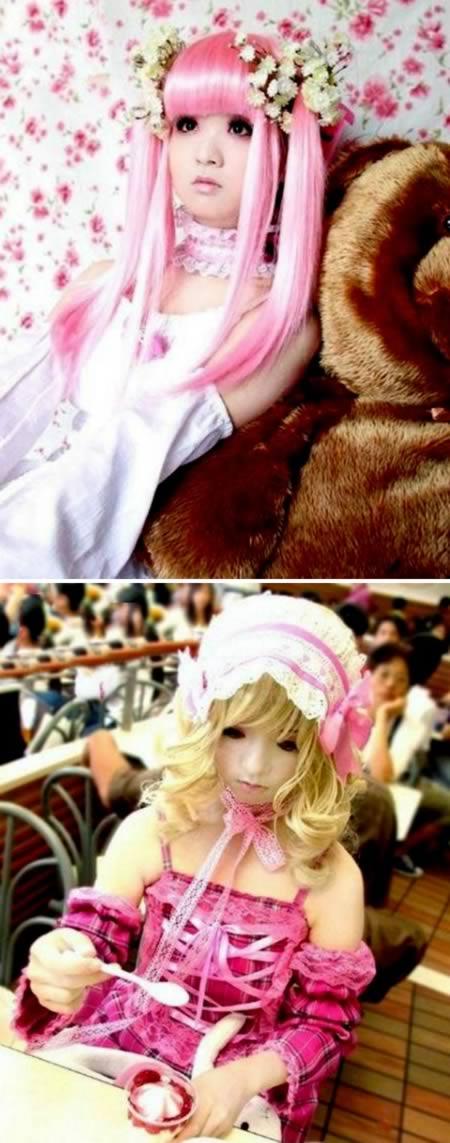 Десять красивейших девушек-кукол