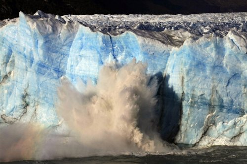 Ледник Перито Морено в Андах