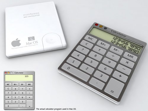 Оригинальные калькуляторы