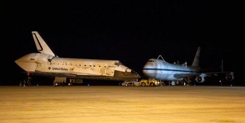 Шаттл Discovery отправился в последний полет