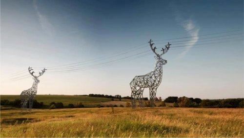 Электроопоры DesignDepot  в виде оленей