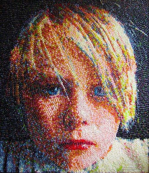 Картины и портреты из леденцов