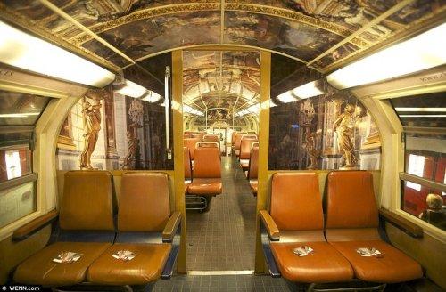 Поезд в стиле Людовика 14-го