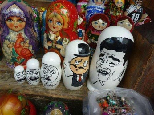 Такое можно увидеть только в России