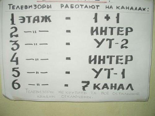 Маразмы в надписях (33 шт)