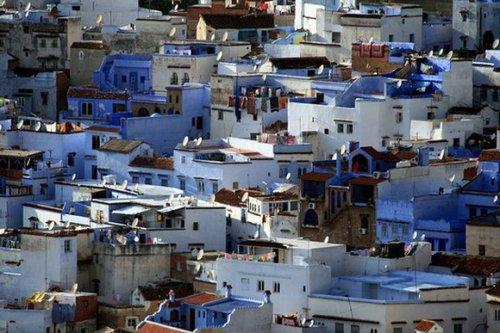 Самые потрясающие одноцветные города мира
