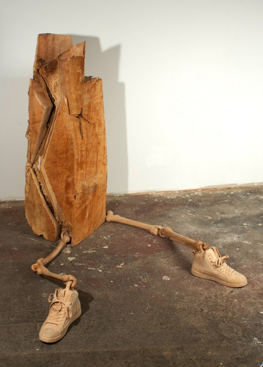 Деревянные скульптуры от Dan Webb