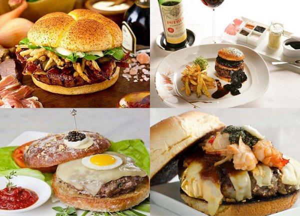 Самые дорогие в мире гамбургеры