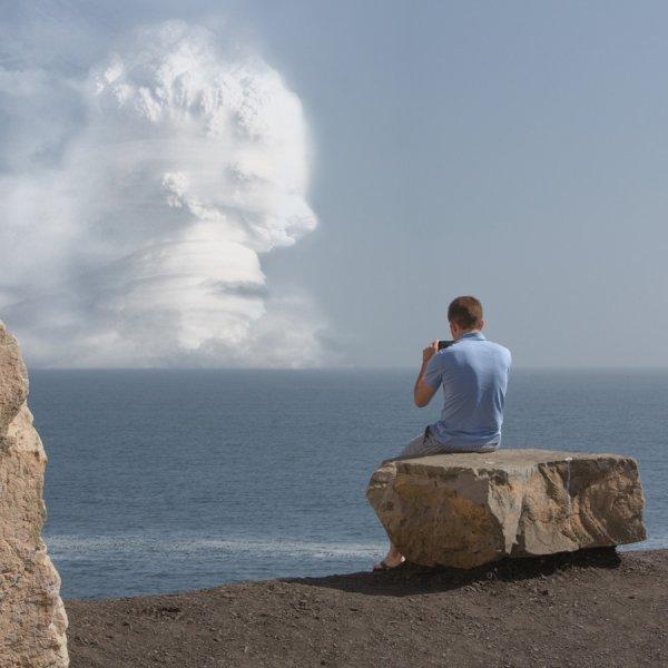 Атомный взрыв как туристическая достопримечательность глазами фотографа Клэя Липски