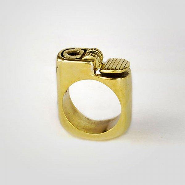 Необычный дизайн колец