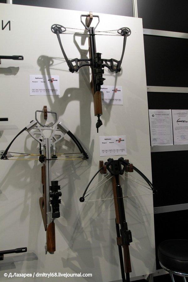 """Оружие, представленное на Международной выставке """"Arms & Hunting 2012"""""""