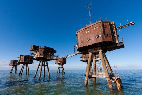 Морские форты Гая Маунселла