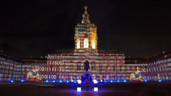 Берлинский Фестиваль света украсил городскую архитектуру