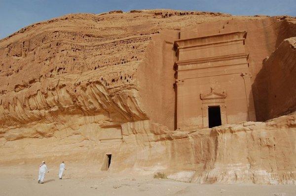 Доисламская цивилизация в Мадаин-Салих (Madain Saleh) в Саудовской Аравии