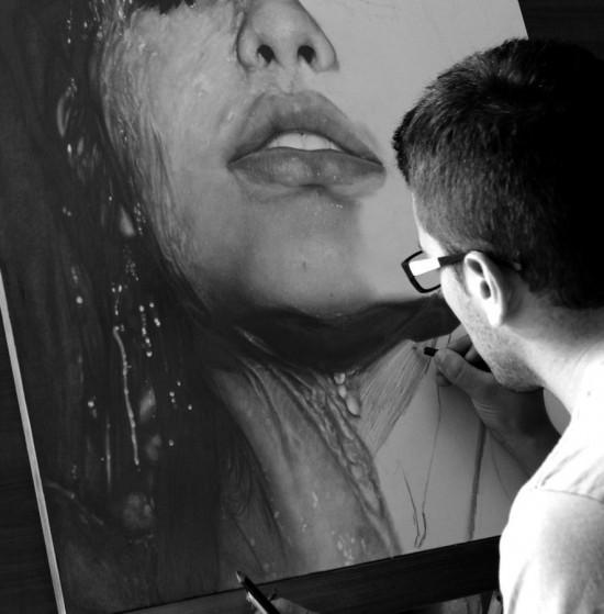 Невероятно реалистичные портреты людей, нарисованные карандашом