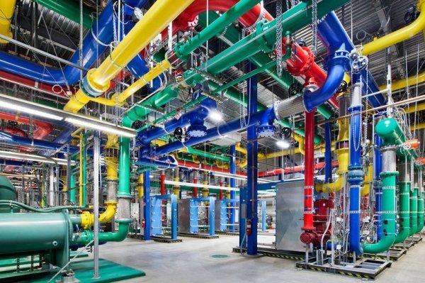 Внутри дата-центров компании Google