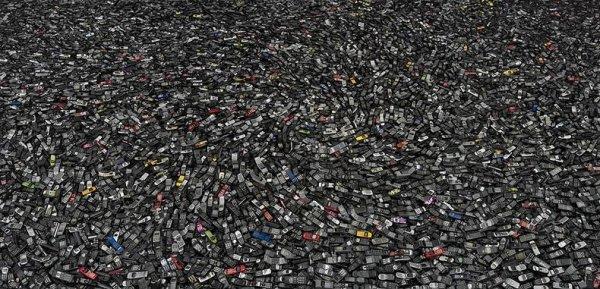 Портреты американского массового потребления в фотографиях Криса Джордана