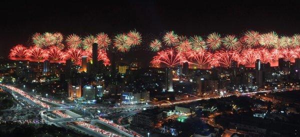 Салют, приуроченный к золотому юбилею Конституции Кувейта, занесен в Книгу рекордов Гиннесса