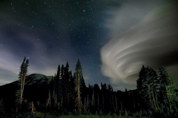 Удивительные формы облаков
