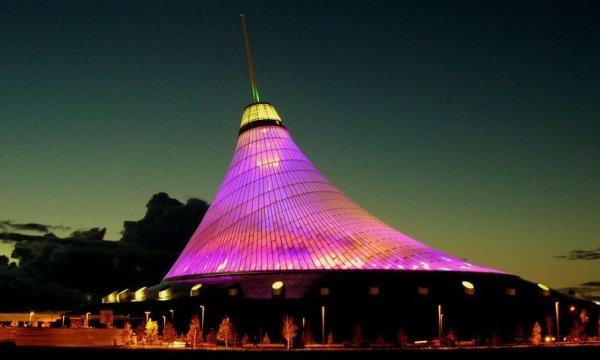 Хан Шатыр в Казахстане – самый высокий шатёр в мире