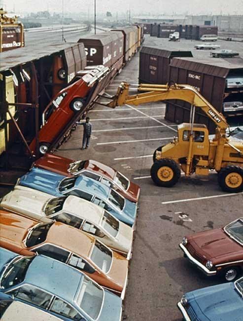 Vert-A-Pac: необычный способ транспортировки автомобилей