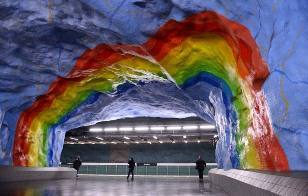 Самые красивые станции метро европейского континента