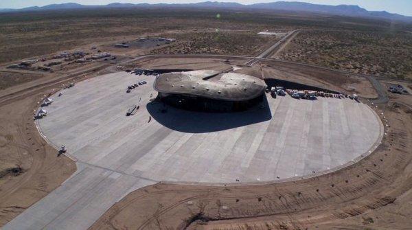 Строительство футуристического космопорта «Америка» в Нью-Мексико приближается к завершению