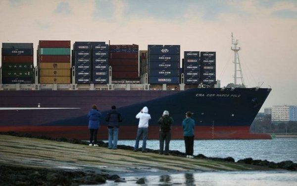 CMA CGM Marco Polo — крупнейшее в мире судно-контейнеровоз