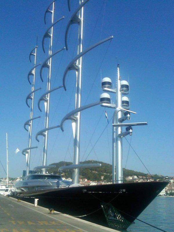 Мальтийский Сокол – самая длинная в мире яхта