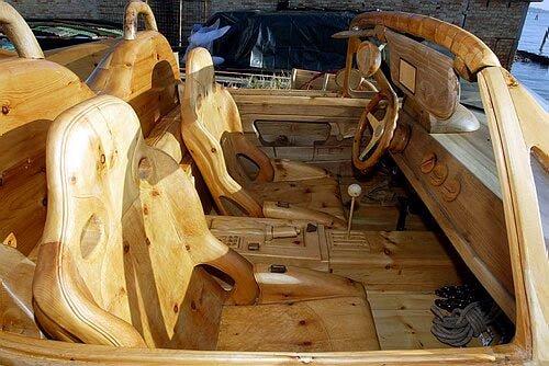 Увлекательный деревянный мир Ливио де Марчи