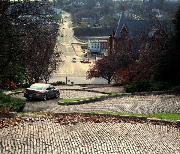 Змеиный переулок – извилистая улица