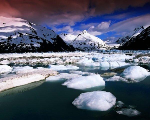 Живописная красота Ледяного каньона в Гренландии (12 фото)