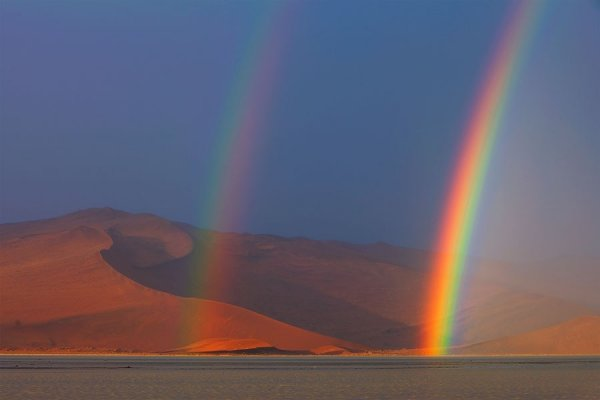 Великолепные пейзажи пустыни Намиб в фотографиях Хоугаарда Малана (30 шт)