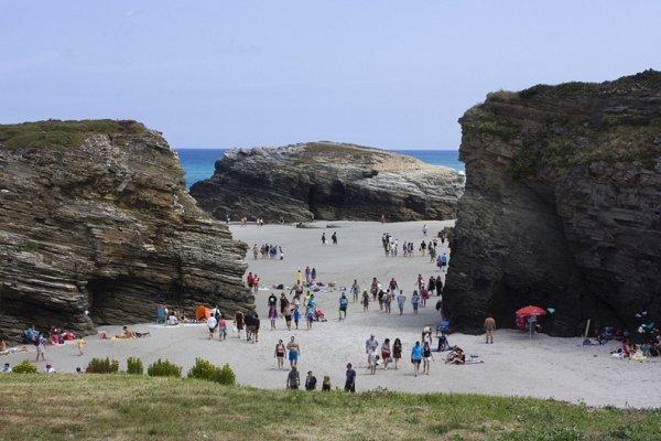 Пляж Соборов в Испании