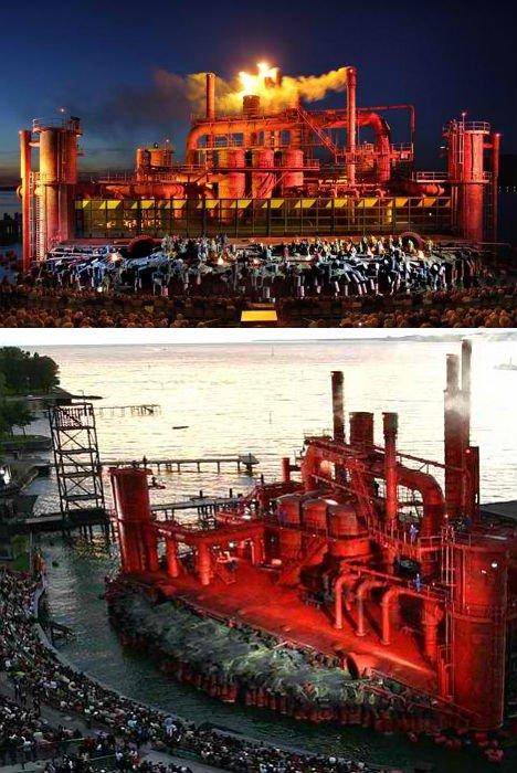 Архитектура для театральных постановок: 10 великолепных оперных сцен и платформ