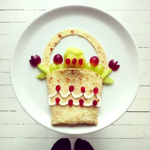 Художественные блюда от Иды Скивенес (25 фото)
